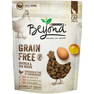 Purina Beyond Chicken & Egg Recipe Grain-Free Cat Treats, 6-oz bag
