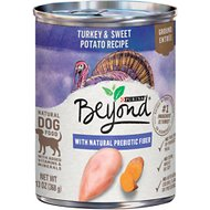 Purina Beyond Grain-Free Turkey & Sweet Potato Recipe Ground Entree Canned Dog Food, 13-oz, case of 12