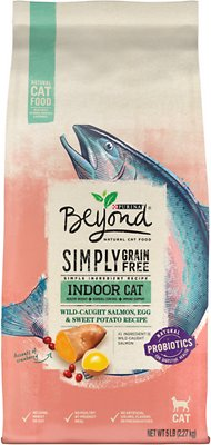 7. Purina Beyond Simply Indoor Wild-Caught Salmon