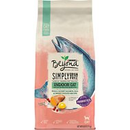 Purina Beyond Indoor Grain-Free Salmon, Egg & Sweet Potato Recipe Dry Cat Food, 5-lb bag