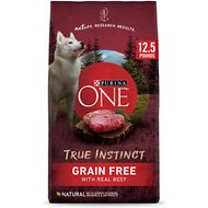 Purina ONE SmartBlend True Instinct with Real Beef & Sweet Potato Grain-Free Dry Dog Food, 12.5-lb bag