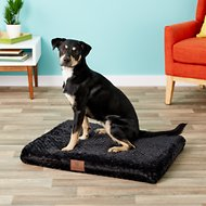 American Kennel Club Orthopedic Pet Crate Mat, 30-inch, Black