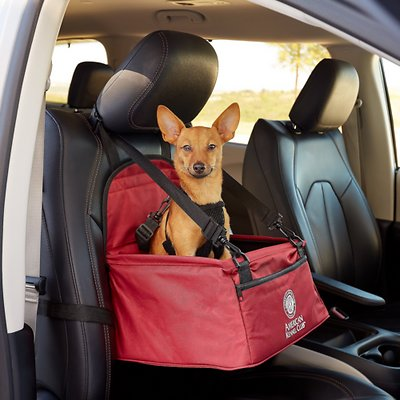 Amazing American Kennel Club Pet Booster Seat Gray Alphanode Cool Chair Designs And Ideas Alphanodeonline