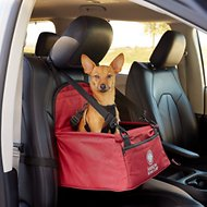 American Kennel Club Pet Booster Seat, Red
