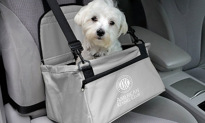 Terrific American Kennel Club Pet Booster Seat Gray Alphanode Cool Chair Designs And Ideas Alphanodeonline