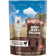 Waggin' Train Beef Jerky Recipe Dog Treats, 11-oz bag