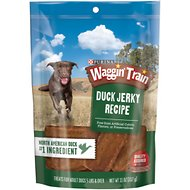 Waggin' Train Duck Jerky Recipe Dog Treats, 11-oz bag