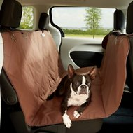 KOPEKS Waterproof Quilted Car Seat Cover, Brown