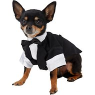 East Side Collection Yappily Ever After Groom Dog & Cat Tux, XX-Small