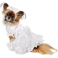 East Side Collection Yappily Ever After Wedding Dog Dress, XX-Small