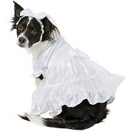 East Side Collection Yappily Ever After Wedding Dog & Cat Dress, Medium