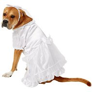 East Side Collection Yappily Ever After Wedding Dog & Cat Dress, Large