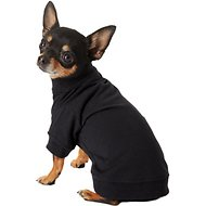 Zack & Zoey Basic Dog & Cat T-Shirt, Black, X-Small
