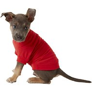 Zack & Zoey Basic Dog & Cat T-Shirt, Red, X-Small