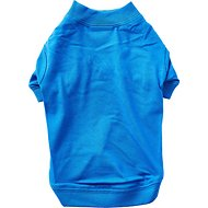 Zack & Zoey Basic Dog & Cat T-Shirt, Blue, Small