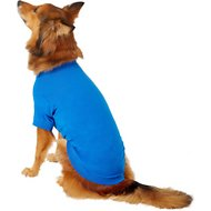 Zack & Zoey Basic Dog & Cat T-Shirt, Large, Blue