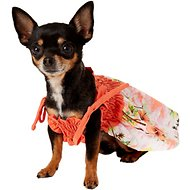 Casual Canine Hawaiian Breeze Dog Sundress, XX-Small