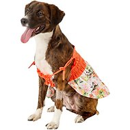 Casual Canine Hawaiian Breeze Dog Sundress, Small/Medium