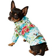 Casual Canine Hawaiian Breeze Camp Dog & Cat Shirt, XX-Small