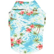 Casual Canine Hawaiian Breeze Camp Dog & Cat Shirt, X-Small