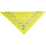 Top Performance Paisley Dog & Cat Bandana, Yellow