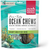 The Honest Kitchen Beams Ocean Chews Wolfish Skins Dehydrated Dog Treats, Small, 3.25-oz bag
