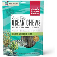 The Honest Kitchen Beams Ocean Chews Wolfish Skins Dehydrated Dog Treats, Large, 6-oz bag