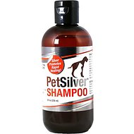 PetSilver Antimicrobial Dog & Cat Shampoo, 8-oz bottle
