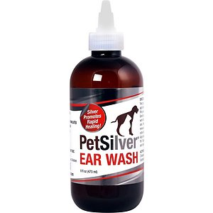 PetSilver Antimicrobial Dog & Cat Ear Wash
