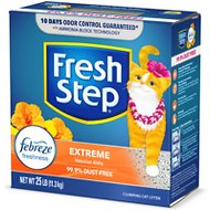 Fresh Step Extreme Odor Control Hawaiian Aloha Scent Cat Litter, 25-lb box