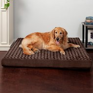 FurHaven NAP Ultra Plush Deluxe Orthopedic Pet Bed, Jumbo, Chocolate
