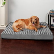 FurHaven NAP Ultra Plush Deluxe Orthopedic Pet Bed, Jumbo, Gray