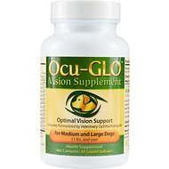 Animal Necessity Ocu-GLO Vision Dog Supplement, Medium/Large, 45-count