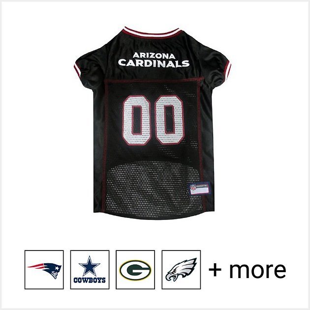 dc9f3f020db Pets First NFL Dog & Cat Mesh Jersey, Arizona Cardinals, Large - Chewy.com