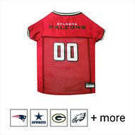 Pets First NFL Dog & Cat Mesh Jersey, Atlanta Falcons, Large