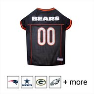 Pets First Chicago Bears Mesh Dog & Cat Jersey, Large