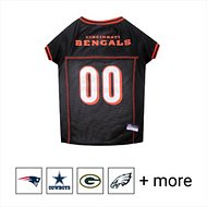 Pets First Cincinnati Bengals Mesh Dog & Cat Jersey, Large