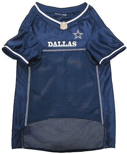 Pets First Dallas Cowboys Mesh Dog Jersey X Large Chewy Com