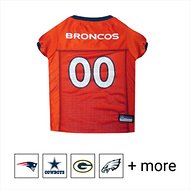 Pets First Denver Broncos Mesh Dog Jersey, Medium