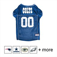 Pets First Indianapolis Colts Mesh Dog & Cat Jersey, Large