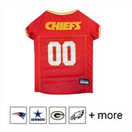 Pets First Kansas City Chiefs Mesh Dog & Cat Jersey, Large
