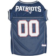 Pets First New England Patriots Mesh Dog Jersey, X-Large