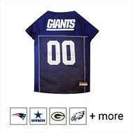 Pets First New York Giants Mesh Dog & Cat Jersey, Large