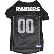 Pets First Oakland Raiders Mesh Dog & Cat Jersey, Medium