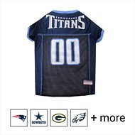 Pets First Tennessee Titans Mesh Dog & Cat Jersey, Large