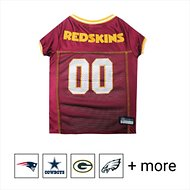 Pets First Washington Redskins Mesh Dog Jersey, Large