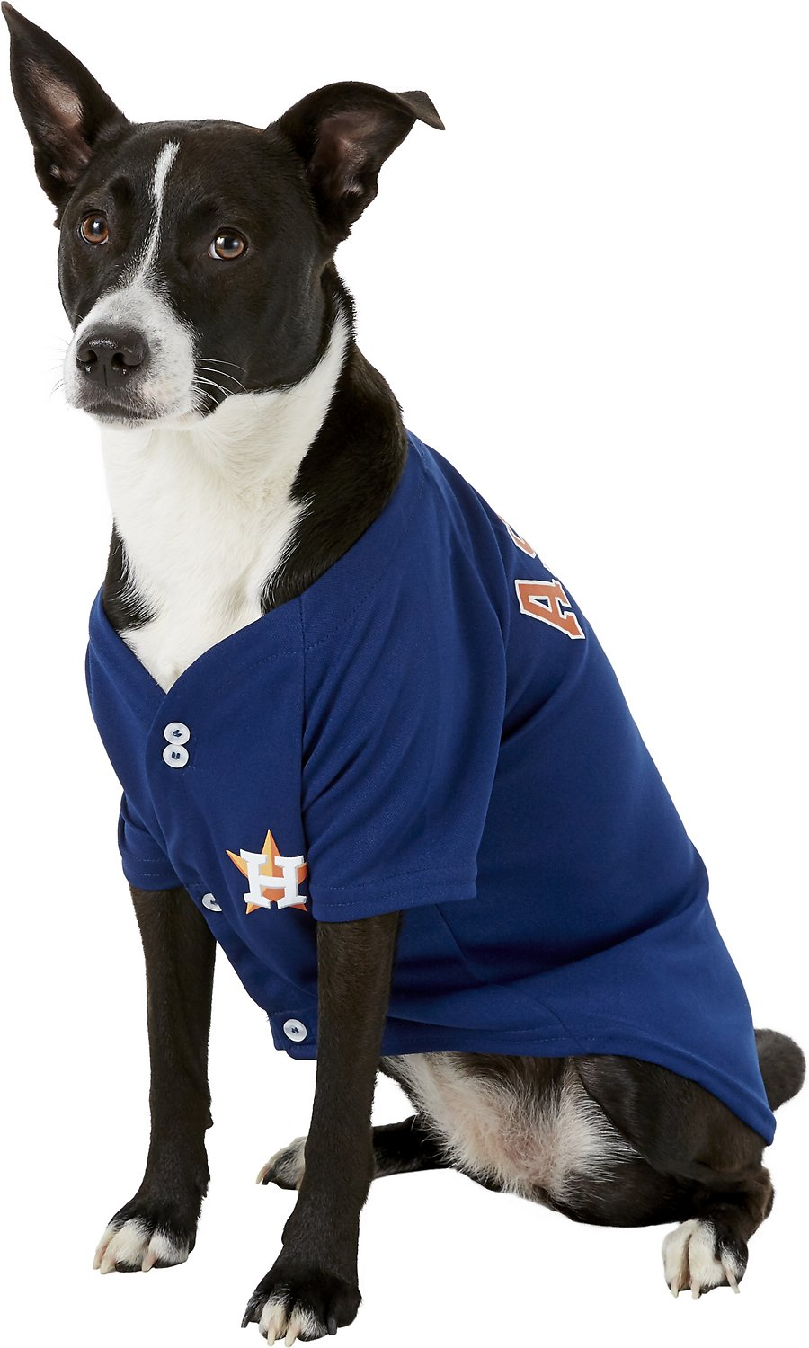 more photos 5a097 20066 Pets First MLB Dog & Cat Jersey, Houston Astros, Large