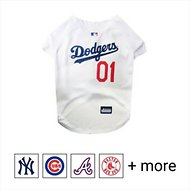 Pets First MLB Dog & Cat Jersey, Los Angeles Dodgers, Small