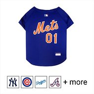 Pets First MLB Dog & Cat Jersey, New York Mets, Large