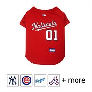 Pets First MLB Dog & Cat Jersey, Washington Nationals, Large